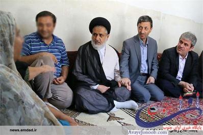دلنوشته ای برای سفر پر خیر و برکت رئیس کمیته امداد کشور به استان/ گریه بر هر دردی دواست! + تصاویر