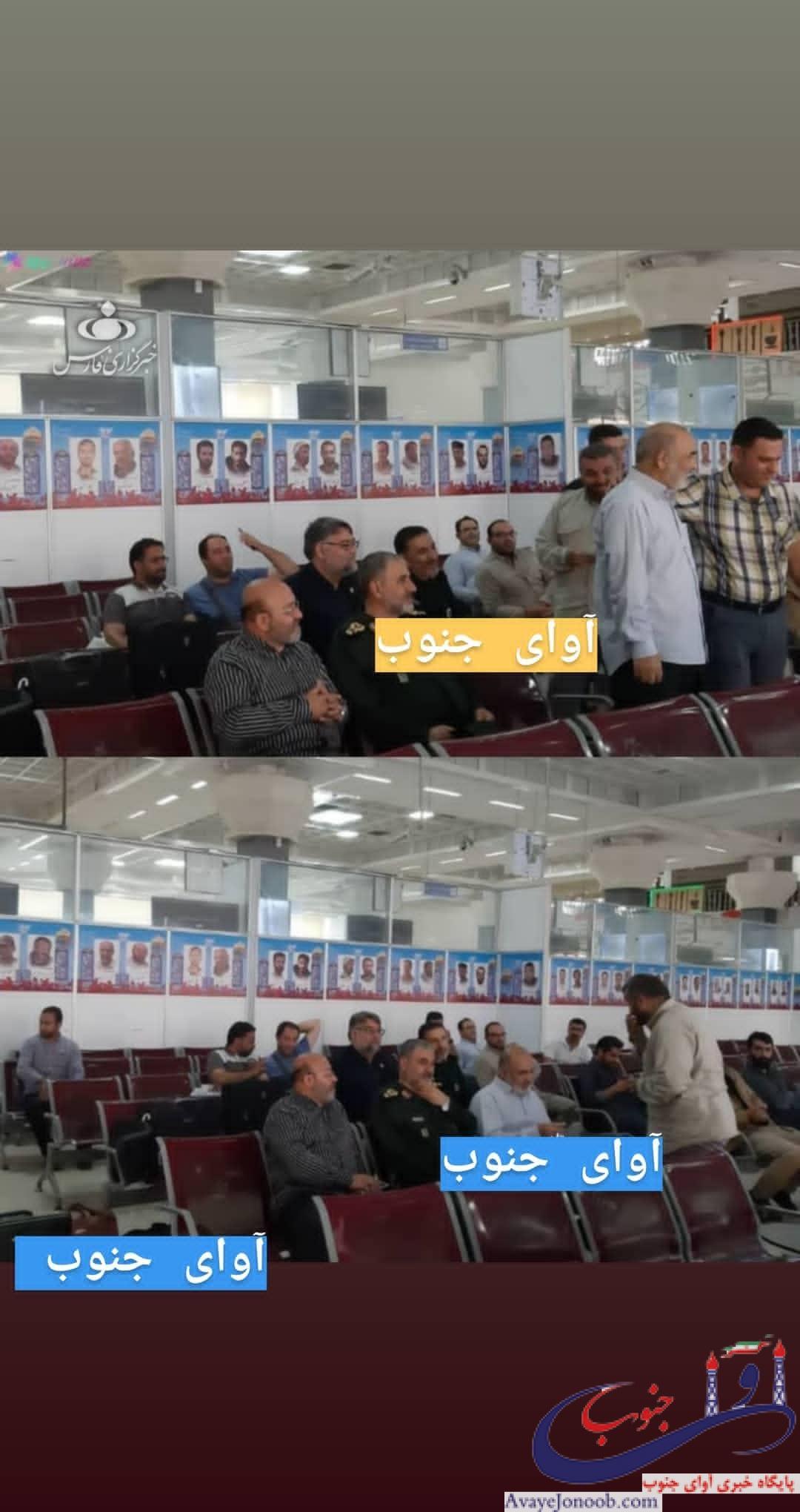 اقدام جالب فرمانده کل سپاه در سفر به خوزستان/ تصویری که از چشم رسانهها پنهان ماند+تصاویر